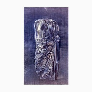 Clement Rosenthal, Caryatid, Oil on Canvas