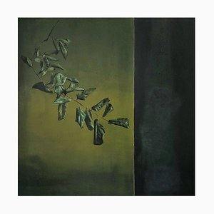 Oil on Canvas, Clement Rosenthal, Wilted Foliage