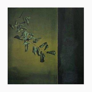 Óleo sobre lienzo, Clement Rosenthal, follaje marchito