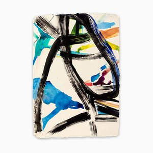 Calligraph, Abstract Expressionist Painting, 2017