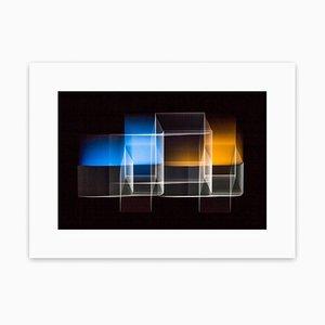 Zwei überbrückte Quadrate 1, abstrakte Fotografie, 2013