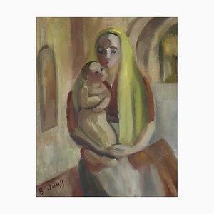 Mère et Enfant B. Jung, 1952