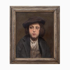 Lucy Margaret Buck, Portrait of a French Boy
