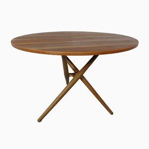 Tavolo regolabile di Jürg Bally per Wohnhilfe, Svizzera, anni '50