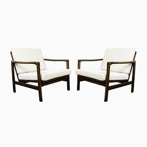 B-7522 Armlehnstühle von Zenon Bączyk, 1960er, 2er Set
