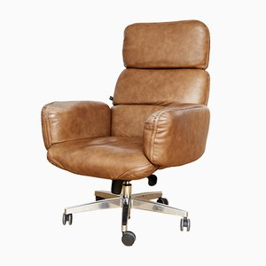 Vintage Executive Swivel Chair by Otto Zapf for Topstar