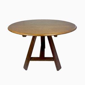 Dutch Oak Tilt Top Table, 19th Century