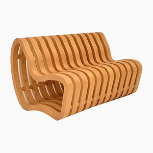 Curved Bench by Nina Moeller