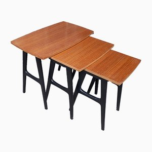 Tables Gigognes Scandinaves, Set de 3