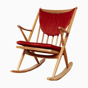 Rocking Chair by Frank Reenskaug for Bramin, 1960s