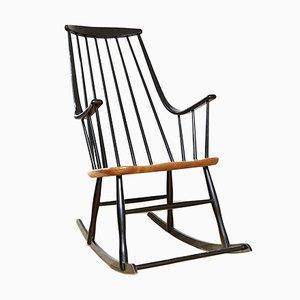 Vintage Grandessa Rocking Chair by Lena Larssen for Nesto