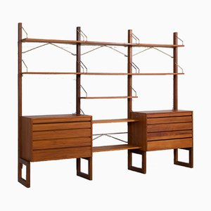 Free Standing Royal Shelving Unit in Teak by Poul Cadovius for Cado, 1960s