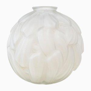 Art Deco French Glass Vase