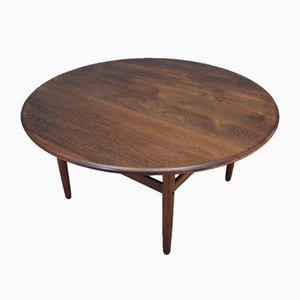 Dänischer Eichenholz Tisch, 1960er