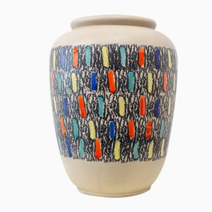 Vintage Ceramic Vase from Kreta