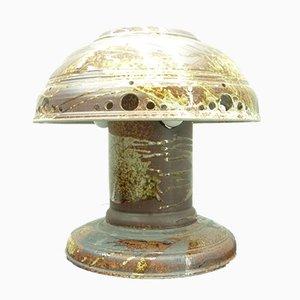 Space Age Fat Lava Tischlampe aus Keramik, 1960er