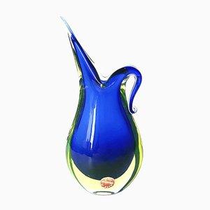 Murano Glass Vase by Flavio Poli for Seguso, 1960s