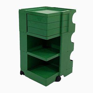 Carrello Boby verde di Joe Colombo per Bieffeplast, anni '60