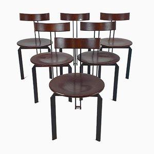 Postmodern Zeta Chairs by Harvink, 1980s, Set of 6