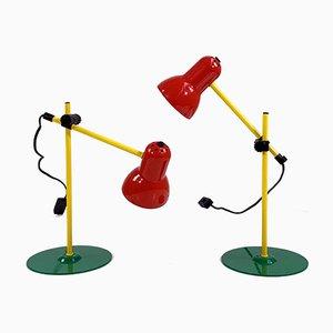 Mehrfarbige Tischlampe von Stilplast, 1980er