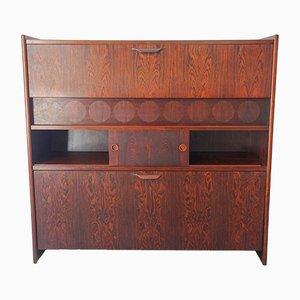 Rosewood Model SK661 Bar Cabinet by Johannes Andersen for Skaaning & Søn, 1960s