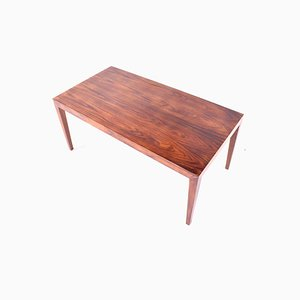 Mid-Century Rosewood Coffee Table by Severin Hansen Jr. for Haslev, 1970s
