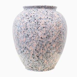 Space Age Vase aus Granit in Rosa