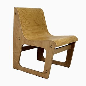Beech Plywood Symposio Chair by René Šulc for TON, 2010s
