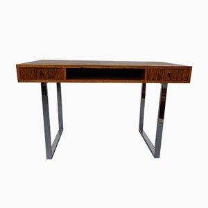 Danish Rosewood & Steel Lady's Desk, 1960s