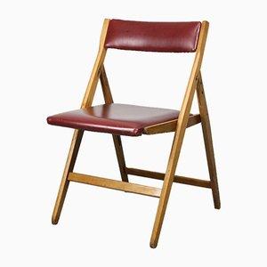 Chaise Pliante Eden Vintage Rouge par Gio Ponti