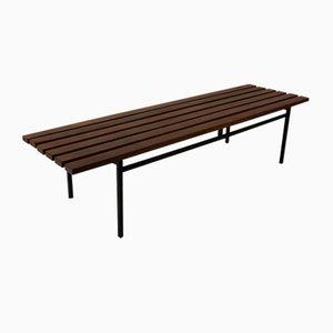Elevant Wooden Slat Bench by Hans Könecke for Tecta