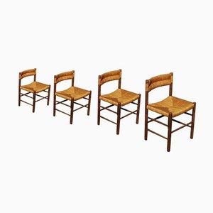 Dordogne Stühle von Charlotte Perriand für Sentou, 4er Set