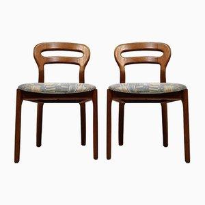 Danish Dining Chair in Teak from J.L. Møllers, Set of 2