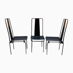 Chairs by Adalberto del Lago, Set of 4