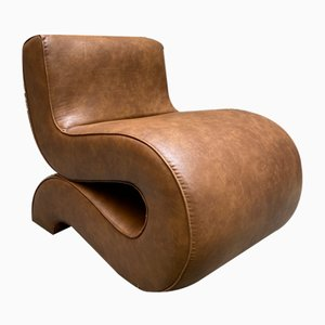 Noodle Armchair by Augusto Betti for Habitat Faenza, 1967