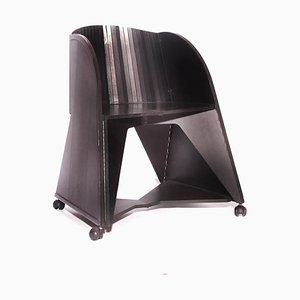 Giorgetti Folding Armchair by Adriano & Paolo Suman, 1980s