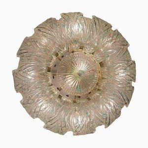 Große Murano Glas Deckenlampe oder Deckenlampe mit 10 Leuchten