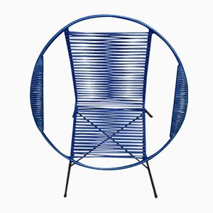 Blue Garden Armchair