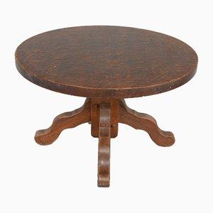 Mid-Century Belgian Round Dining Table