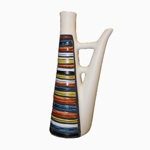 Ceramic Pitcher by Capron, 1960s