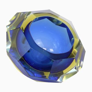 Murano Kristall Aschenbecher von Alessandro Mandruzzato, 1970er