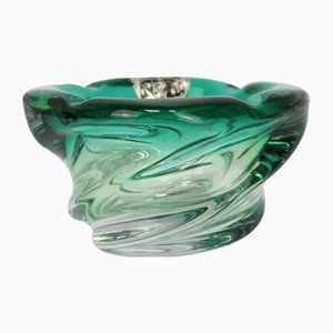 Emerald Green Crystal Centerpiece from Scailmont
