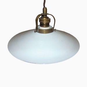 Vorkriegs Art Deco Porzellan Lampe