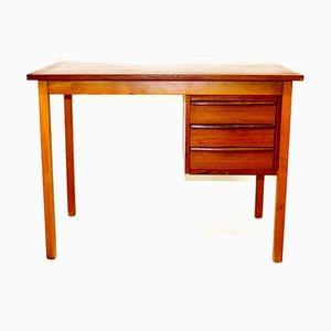 Teak Schreibtisch, Schweden, 1950er