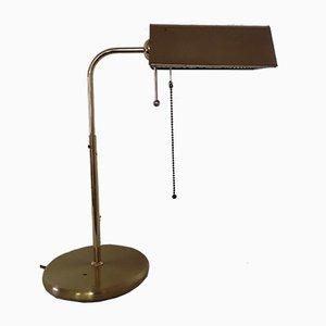 Drehbare Vintage Messing Tischlampe