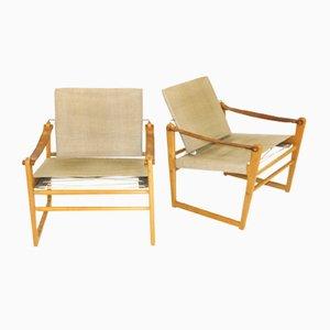 Cikada Stühle von Bengt Ruda, Schweden, 1960er, 2er Set