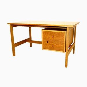 Oak Desk by Hans J. Wegner for Getama, Denmark, 1960s