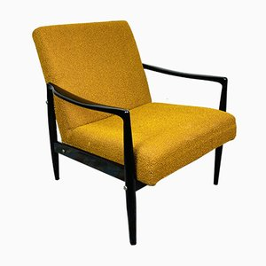Mid-Century Lounge Armchair, Yugoslavia, 1970s