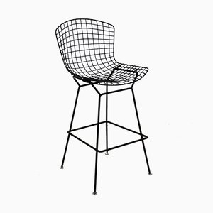 Wire Bar Stool by Harry Bertoia for Knoll Inc, 1970s