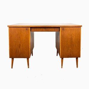 Nordischer Schreibtisch aus Teak, Schweden, 1940er